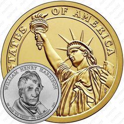 1 доллар 2009, Уильям Гаррисон