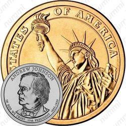1 доллар 2011, Эндрю Джонсон