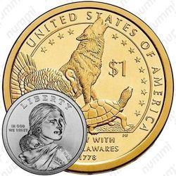 1 доллар 2013, Сакагавея