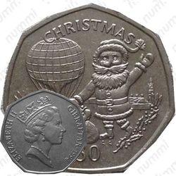 50 пенсов 1994, Рождество