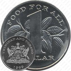 1 доллар 1969, еда миру