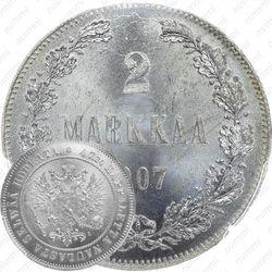 2 марки 1907, L