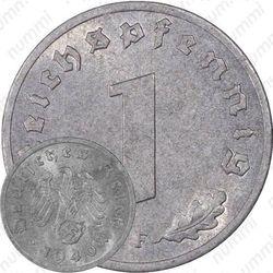 1 рейхспфенниг 1940, Третий рейх, цинк