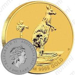 2 доллара 2012, кенгуру