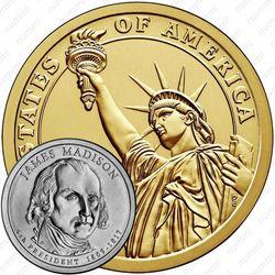 1 доллар 2007, Джеймс Мэдисон