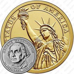 1 доллар 2007, Джордж Вашингтон