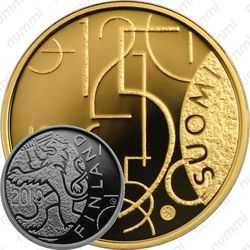100 евро 2010, 150 лет финской валюте