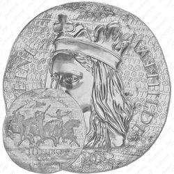 10 евро 2016, королева Матильда