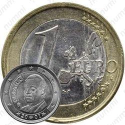 1 евро 2001, M