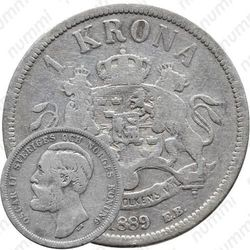 1 крона 1889