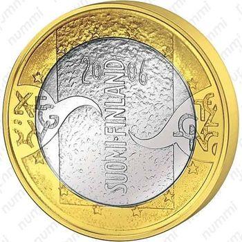 5 евро 2006, председательство Финляндии - Аверс