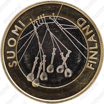 5 евро 2010, Сатакунта - Реверс