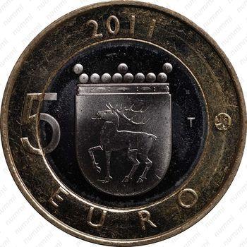 5 евро 2011, Аландские острова - Реверс