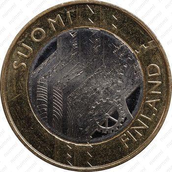 5 евро 2011, Уусимаа - Аверс