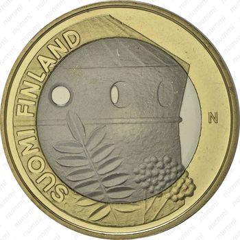 5 евро 2013, крепость Олафсборг - Аверс
