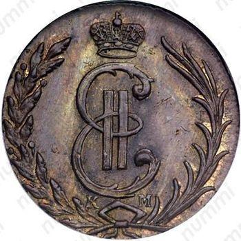 1 копейка 1770, КМ, Новодел - Аверс