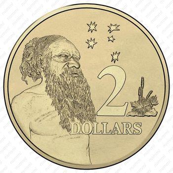 2 доллара 2016, 50 лет с момента перехода на десятичную систему