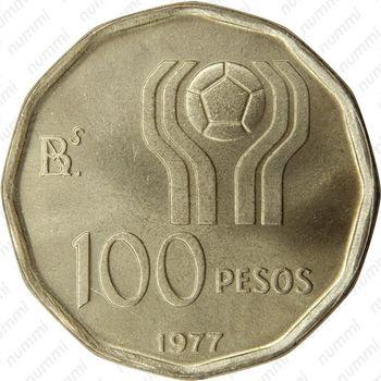 100 песо 1978, ЧМ по футболу в Аргентине