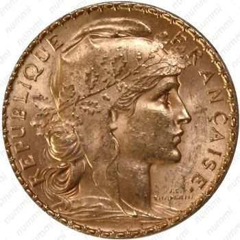 20 франков 1904