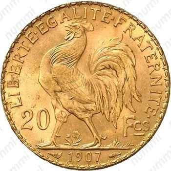 20 франков 1907