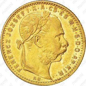 20 франков 8 форинтов 1885