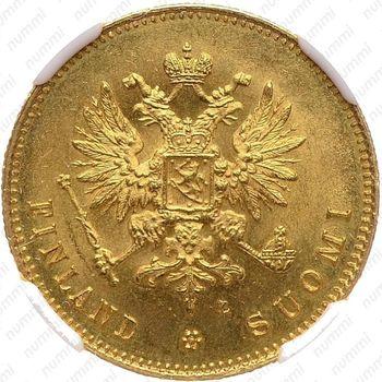 20 марок 1891, L - Аверс