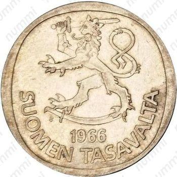 1 марка 1966, S