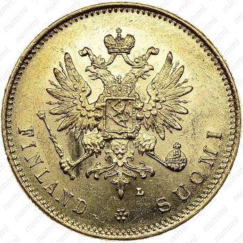 20 марок 1910, L - Аверс