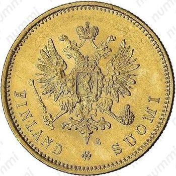 20 марок 1911, L - Аверс