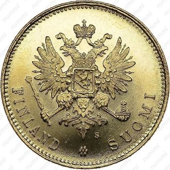 20 марок 1912, S - Аверс