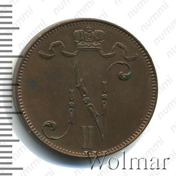 5 пенни 1907 - Аверс