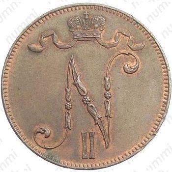 5 пенни 1912 - Аверс