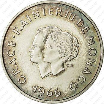 10 франков 1966 - Аверс