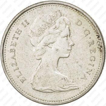 25 центов 1968, серебро - Аверс