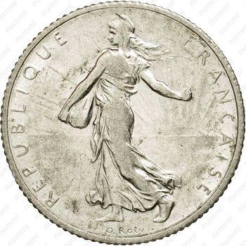1 франк 1918 [Франция] - Аверс