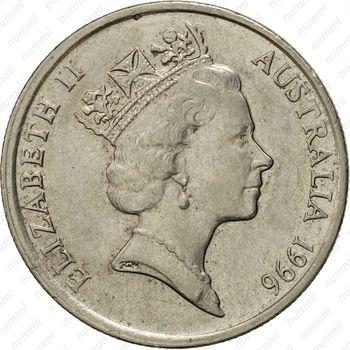 5 центов 1996 [Австралия] - Аверс