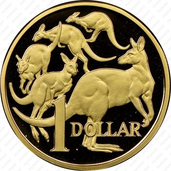 1 доллар 1984 - Реверс