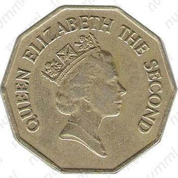 1 доллар 1991