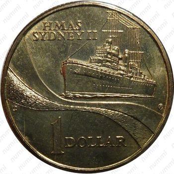 1 доллар 2000, крейсер Сидней
