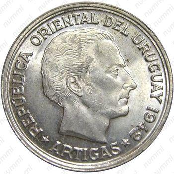 1 песо 1942