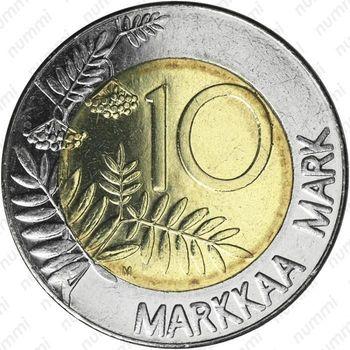 10 марок 2001, M