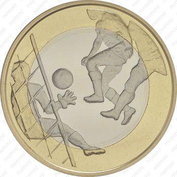 5 евро 2016, футбол - Реверс