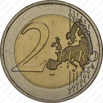 2 евро 2014, Революция гвоздик - Реверс
