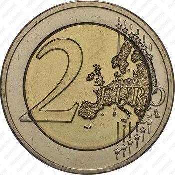 2 евро 2014, Великий Герцог Жан - Реверс