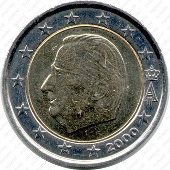 2 евро 2000 - Аверс