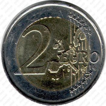 2 евро 2000 - Реверс