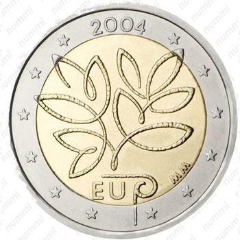 2 евро 2004, пятое расширение ЕС - Аверс