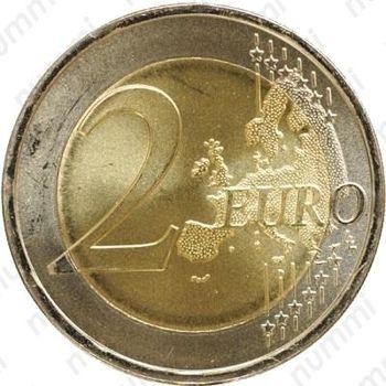 2 евро 2008, права человека (Португалия) - Реверс