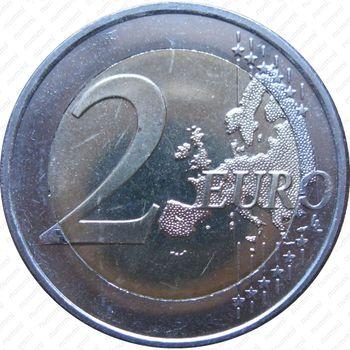2 евро 2009, 10 лет союзу (Словения) - Реверс
