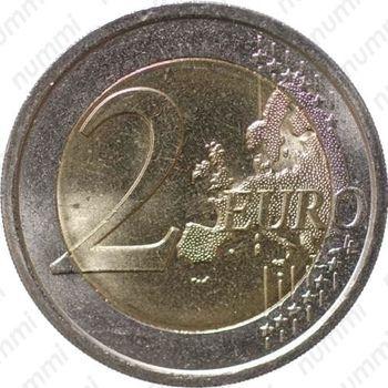 2 евро 2010, Камилло Кавур - Реверс